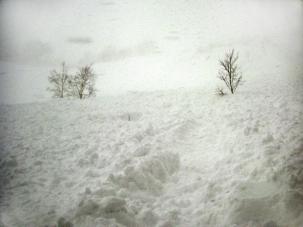 乗鞍 ツアーコース 雪崩