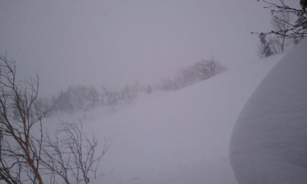 乗鞍岳 スノーボード