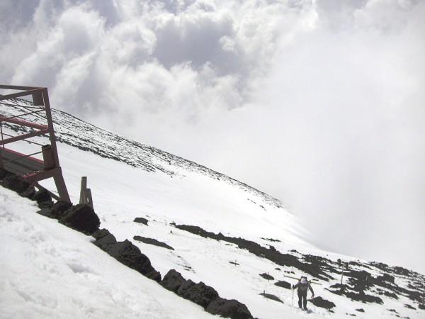 富士山 スノーボード