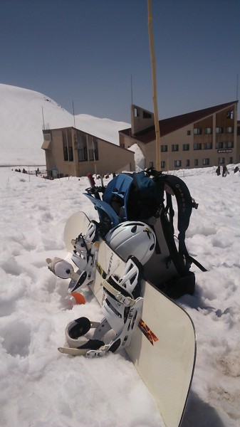 立山 雄山 スノーボード
