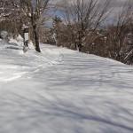 柳沢峠 笠取林道 スノーボード