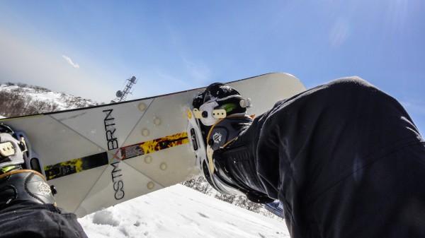 赤城山 地蔵岳 スノーボード