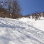 赤城山 地蔵岳 バックカントリー
